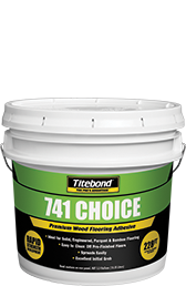 Titebond 741 Choice Premium Wood Flooring Adhesive