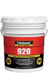 Titebond 920 Clear Thin-Spread Tile Adhesive